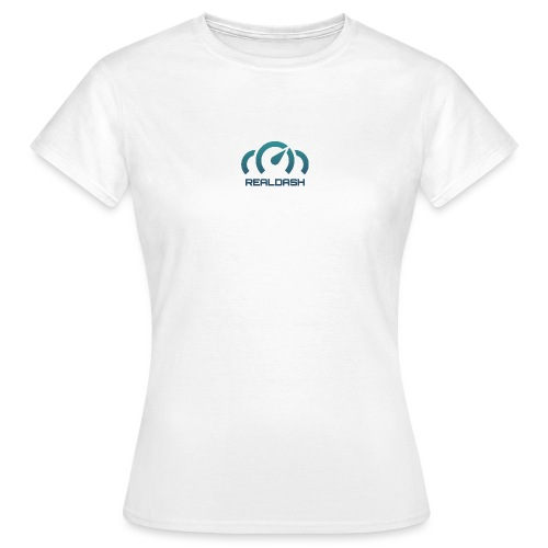 RealDash logo color - Women's T-Shirt