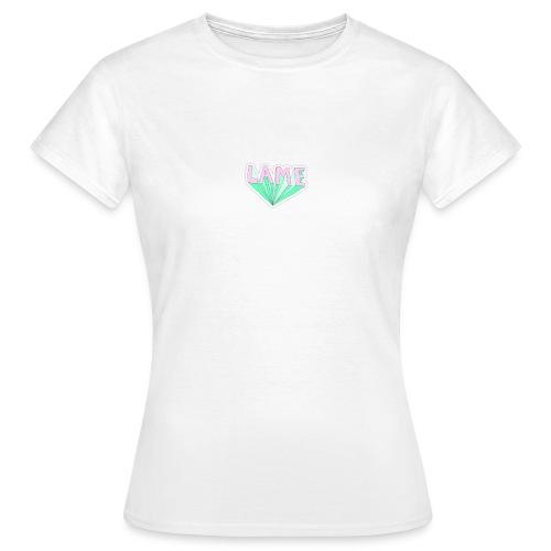 LAME tshirt - Dame-T-shirt