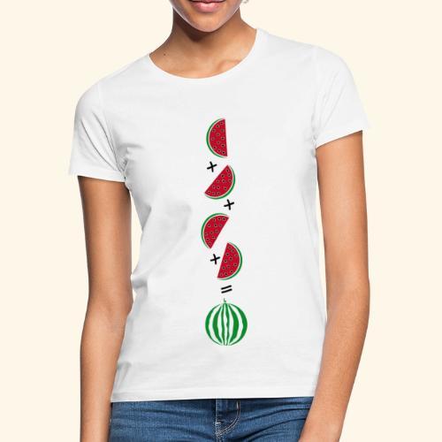 Un cuarto de sandía - Camiseta mujer