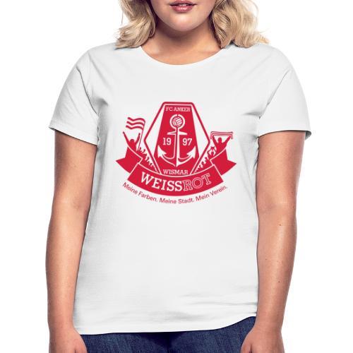 Meine Farben. Meine Stadt. Mein Verein. - Frauen T-Shirt