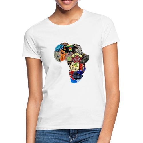 Afrique en Wax (Impression) - T-shirt Femme