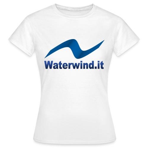 logo waterwindpuntoit no sfondo png - Women's T-Shirt