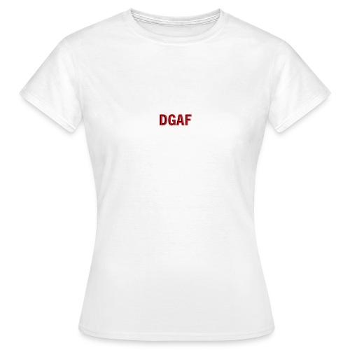 DGAF logo - Frauen T-Shirt