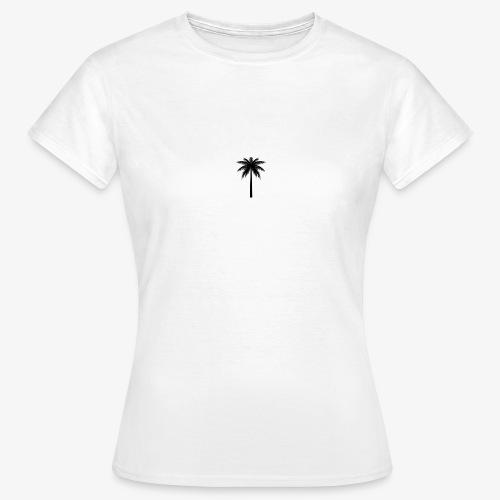 Palm -White - Dame-T-shirt
