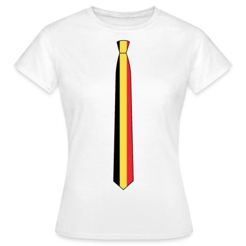 EM Shirt Damen Belgien - Frauen T-Shirt