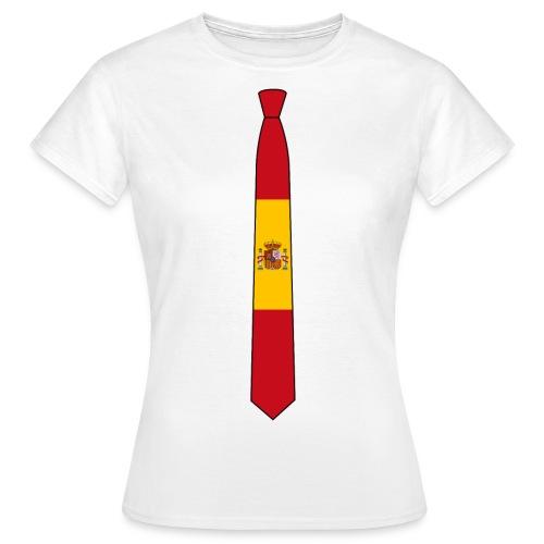 EM Shirt Damen Spanien - Frauen T-Shirt