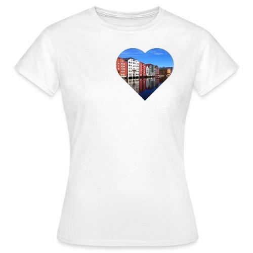 brygga png - T-skjorte for kvinner