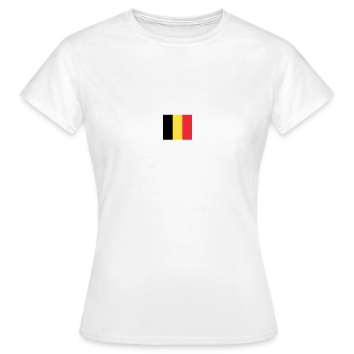 vlag be - Vrouwen T-shirt