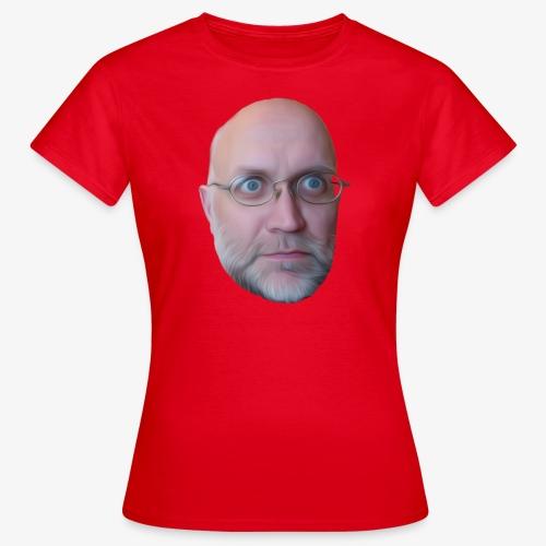 Manges face - T-shirt dam
