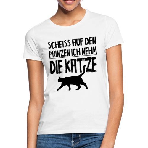 Katze Katzen Katzenliebhaber Geschenk Katzenliebe - Frauen T-Shirt