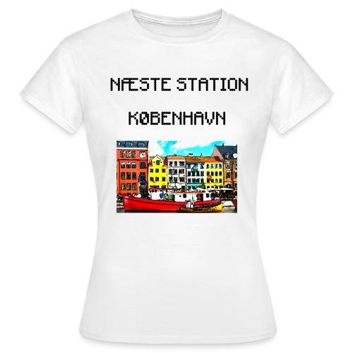 Næste station København - Dame-T-shirt