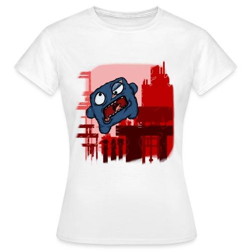 meatboybuildingwhite - Women's T-Shirt