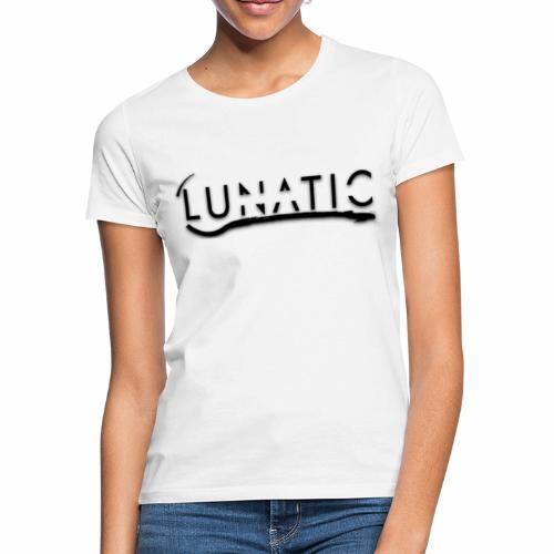 Lunatic Official logo White - T-shirt Femme
