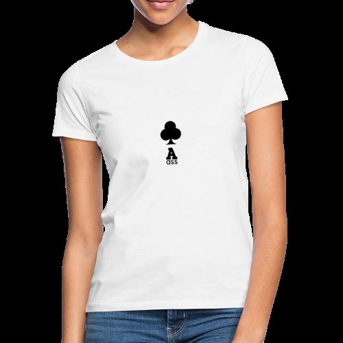 KREUZ ASS - Frauen T-Shirt