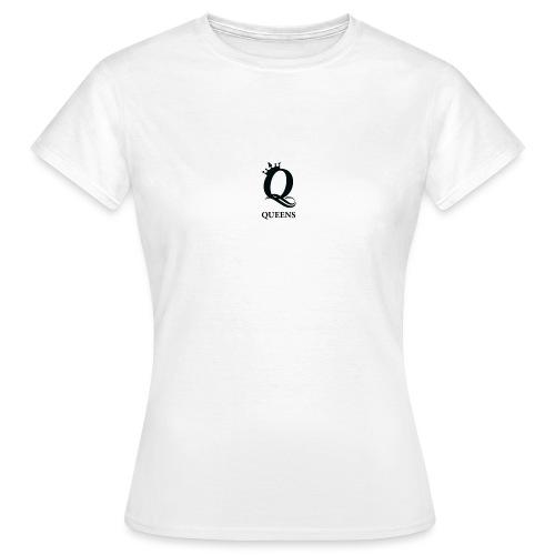 queens logo - T-skjorte for kvinner