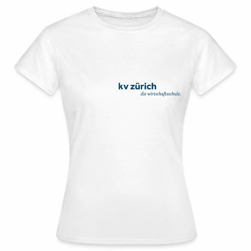 KVZ Logo Blau - Frauen T-Shirt