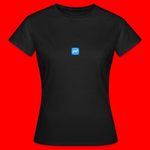 pd Blue V2 - Dame-T-shirt