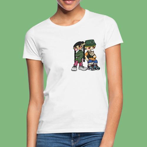 Numero tres y numero cuatro - Camiseta mujer