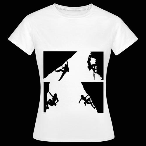 climber - Women's T-Shirt