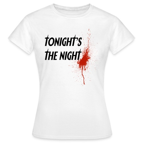 dexter tonight s the night - Camiseta mujer