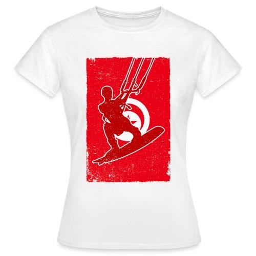 Kitesurfer Tunisia - Frauen T-Shirt