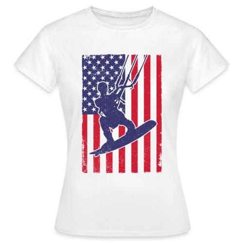 Kitesurfer USA - Frauen T-Shirt