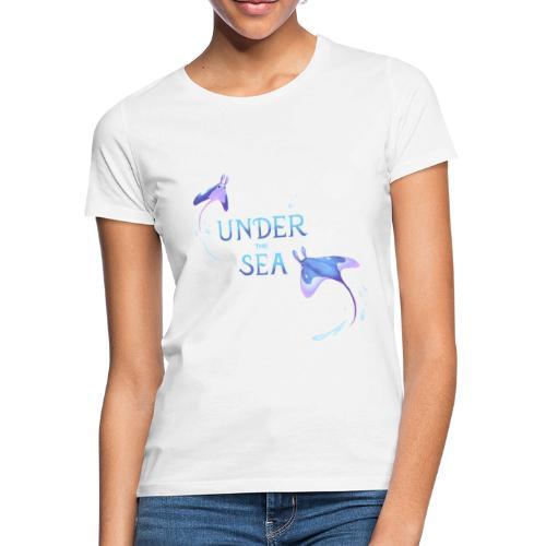 Under the Sea Mantas - T-shirt Femme