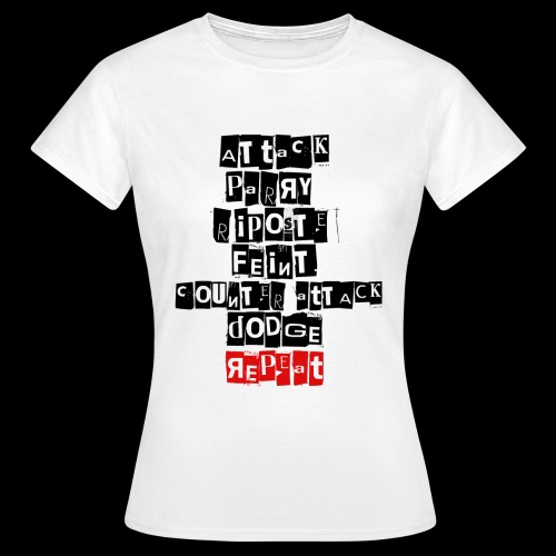 Repeat - T-shirt Femme