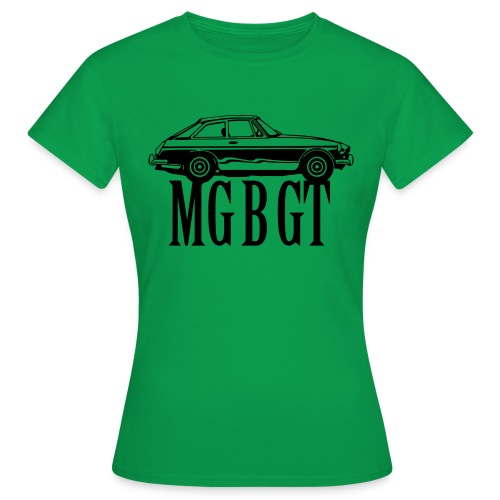MG MGB GT - Autonaut.com - Women's T-Shirt