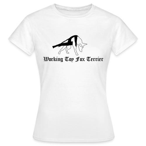 tft working3 - Naisten t-paita