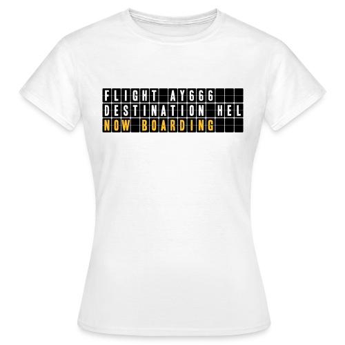 Retourtje hel - Vrouwen T-shirt