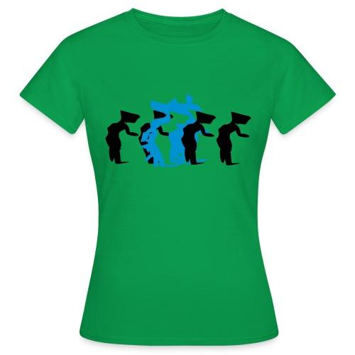 through - Women's T-Shirt