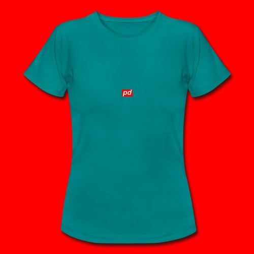 pd Red - Dame-T-shirt