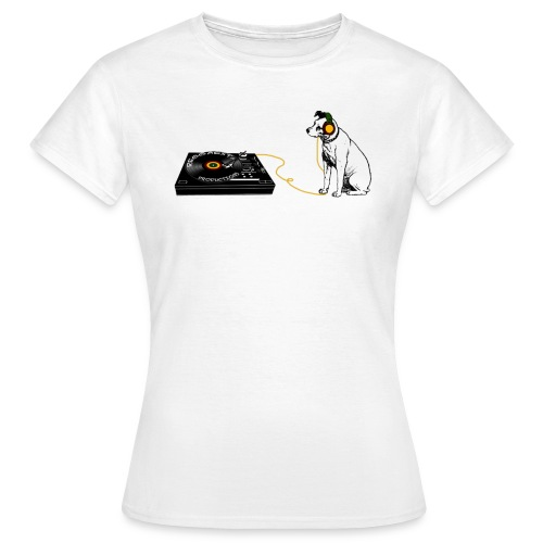 his master s voice big png - Women's T-Shirt