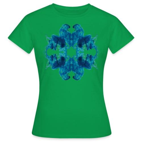 Tintenklecks unter Wasser - Frauen T-Shirt