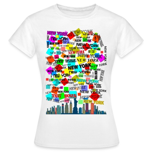 ny colors ny 03 - Maglietta da donna