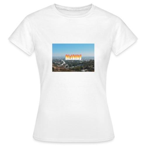 THE VIEW - T-shirt Femme