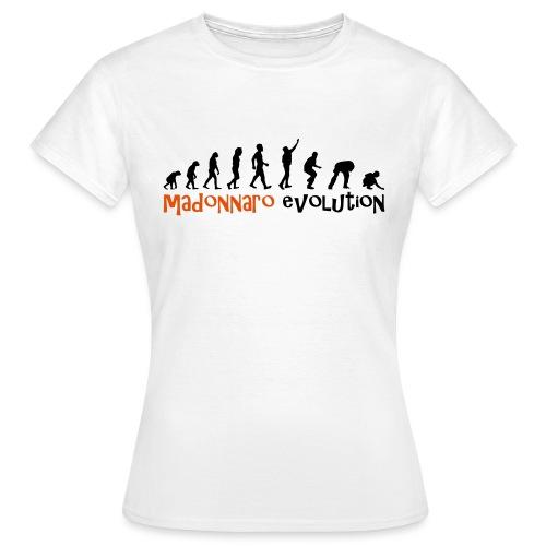 madonnaro evolution original - Women's T-Shirt