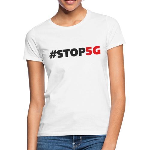 Stop5G linea logo - Maglietta da donna