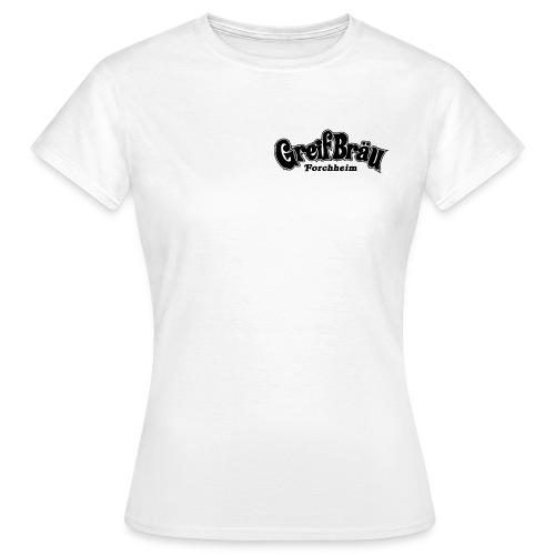 logo - greif schriftzug - Frauen T-Shirt