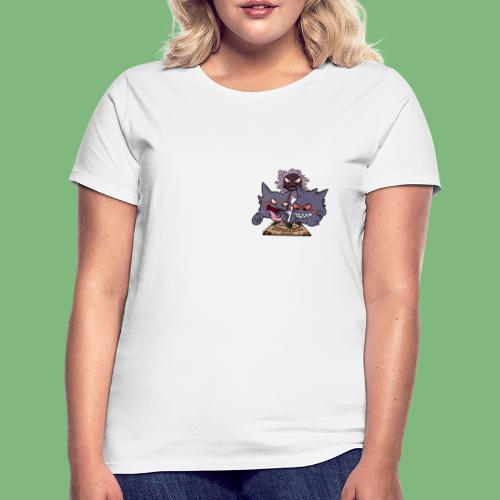 Gastly Haunter y Gengar4 - Camiseta mujer