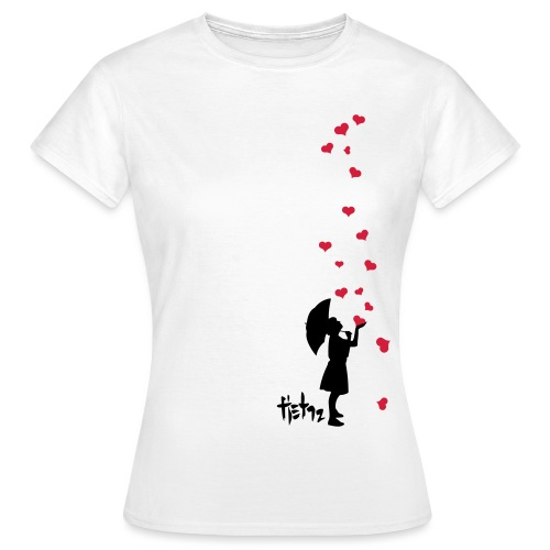 Raining_Love - T-shirt dam
