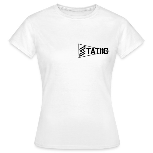 statiic text png - Women's T-Shirt