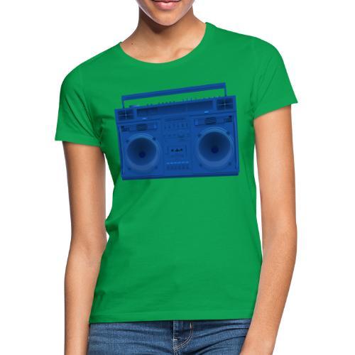 Bestes Stereo blau Design online - Frauen T-Shirt