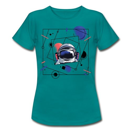 Beste Astronaut Weltraum Designs - Frauen T-Shirt