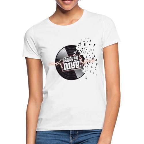 4 Vinyl 01 png - T-shirt Femme