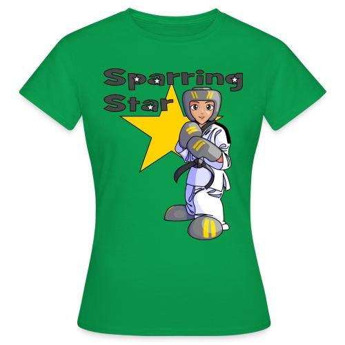 tkdkidblack2 png - Women's T-Shirt
