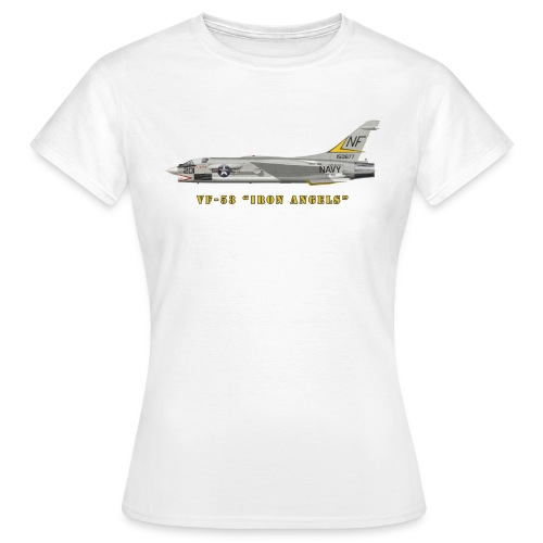 F-8J Crusader VF-53 Iron Angels - Women's T-Shirt