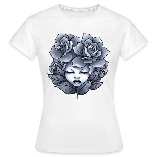 Flower Head - T-shirt Femme