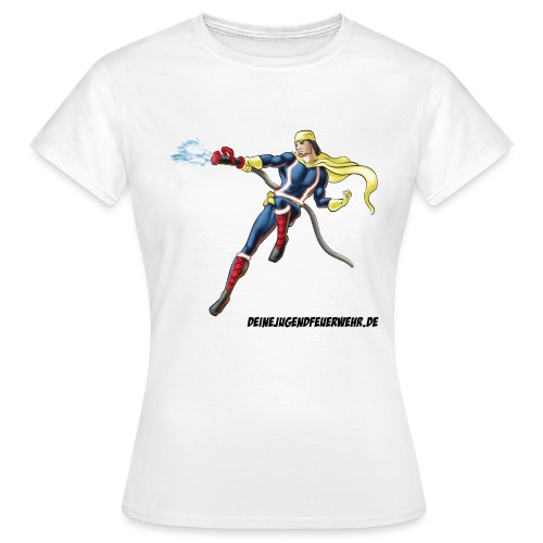 Captain Firefighter - Frauen T-Shirt